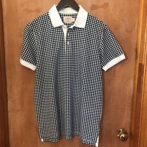 NWOT Brooks Brothers Gingham Polo